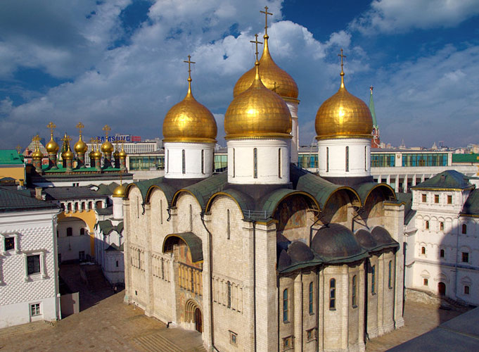 Assumption Cathedral Moscow  Kremlin Tour