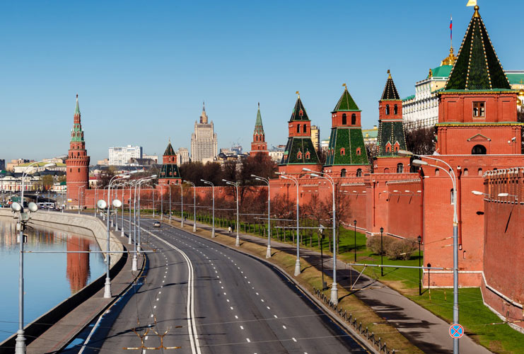 What is in the Kremlin