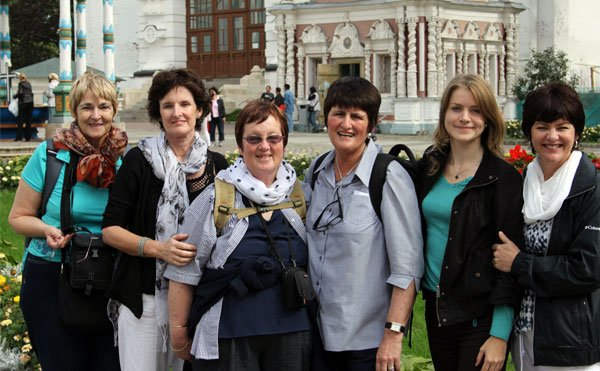 Elna's Party & Diana at Sergiev Posad, Sept 2012
